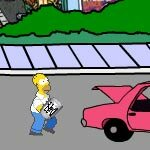 Play Homers Beer Run 2