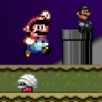 Play Super Halloween Mario Brothers